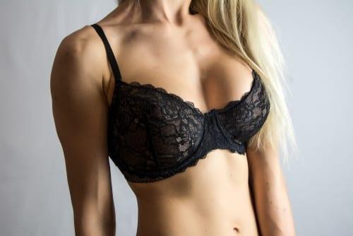 Close-up of women wearing bra beautiful part of female body-img-blog